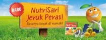 Semuanyaaa..ada kabar gembira nihh, nutrisari kini ada rasa jeruk perasss!!